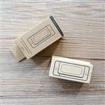 木質橡膠印章 01.標籤-包裝系列