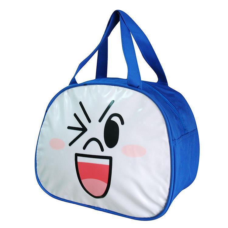 【LINE】造型手提萬用袋便當袋-饅頭人