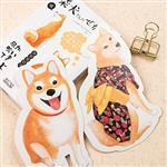暖空柴犬各種表情系列明信片(30入)