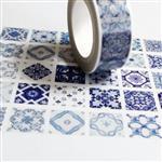 麒麟【分裝】紙膠帶 青花磚