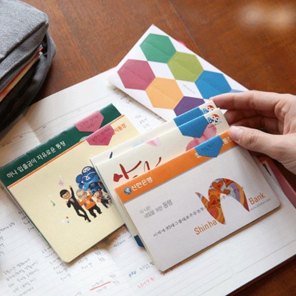 彩色六角形索引便利貼/便條紙/n次貼