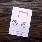 連音符‧迴魂針造型書籤卡
