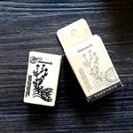 木質橡膠印章 02.甘菊-植物系列