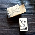 木質橡膠印章 05.雛菊-植物系列