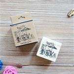 木質橡膠印章 02.咖啡小館-咖啡店系列