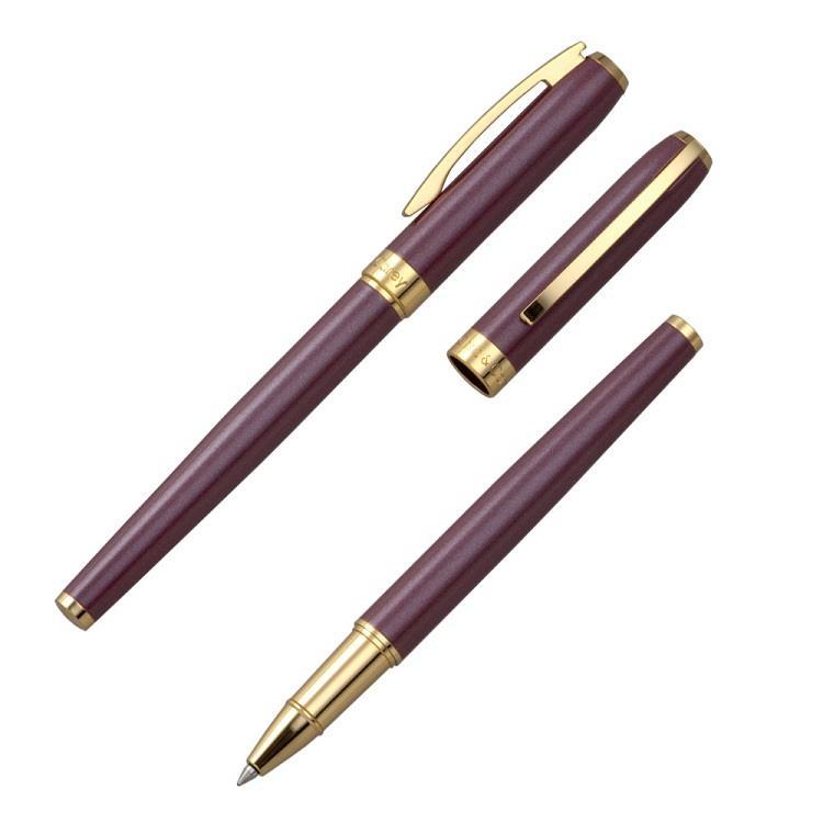 【Chris&Carey】Essence精華鋼珠筆(客製化刻字) / 杜鵑紅