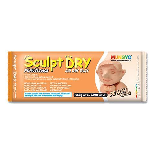 韓國 MUNGYO 無毒 免燒陶土 公仔土 250g 膚色 Sculpt Dry