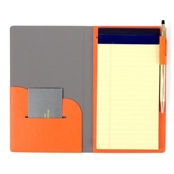 【FENICE】FENICE商務系列 - 隨身筆記本(橘色)