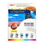 Kala優質光面相片噴墨紙/相片紙A4*2包(170g/㎡‧20張/包)