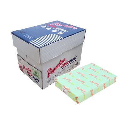 PAPERLINE淺綠色190彩色影印紙A4-70g/㎡-500張裝(10包)