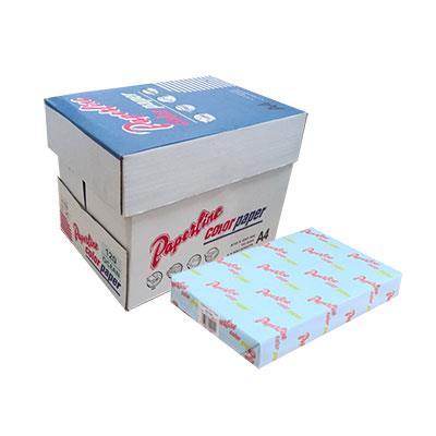 PAPERLINE淺藍色190彩色影印紙A4-70g/㎡-500張裝(10包)