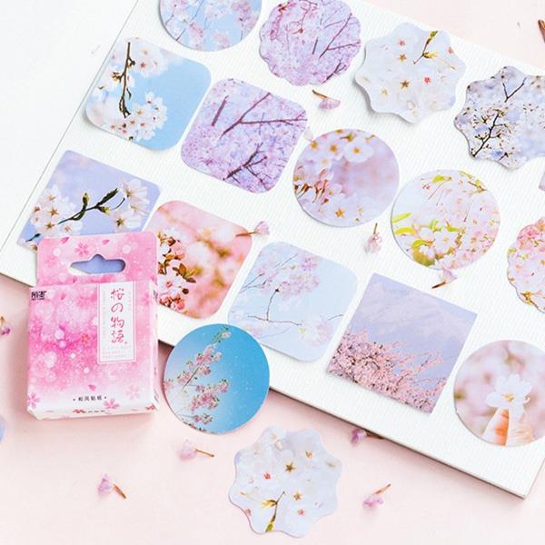櫻的物語盒裝貼紙(46入)