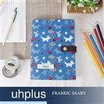 uhplus Fabric Diary 布手帳- 小狐狸