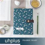 uhplus Fabric Diary 布手帳- 綠竹飄櫻