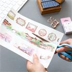 手帳貼紙專用A5離型紙(10入)