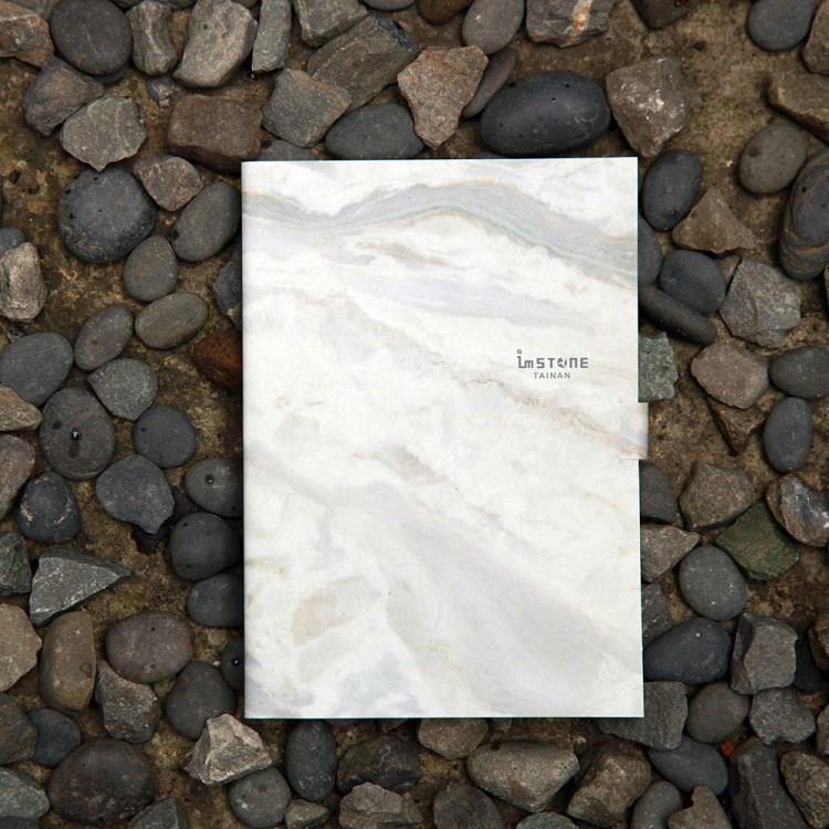 [imSTONE石頭紙禮品] A6繪畫本-白大理石