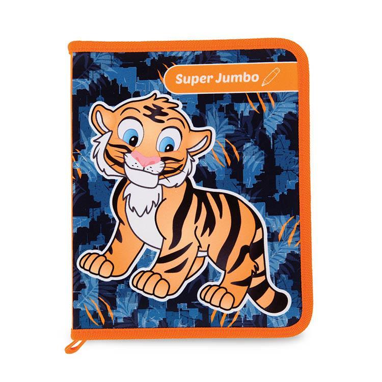 Tiger Family-Smart Kids 3D互動魔法著色繪本-老虎遊樂園-8支組