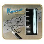 【德國KAWECO】Calligraphy系列藝術書法鋼筆 組/薄荷綠 4250278612405