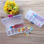 編織工具附可調式收納盒組