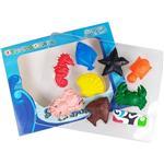【允拓】兒童安全海洋動物蠟筆 (8色)