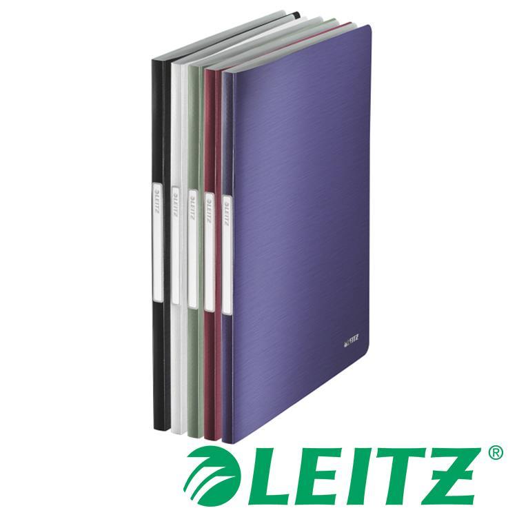 LEITZ STYLE系列- 20頁資料冊 BLACK-緞黑色