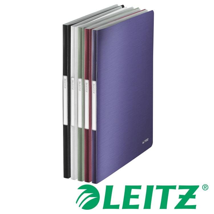 LEITZ STYLE系列- 20頁資料冊 RED-石榴紅