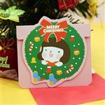 韓國GRACEBELL聖誕小卡_C10聖誕花圈