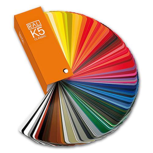 德國 勞爾 RAL 色卡 K5 國際標準色 油漆塗料 全亮面 工業建築設計塗料