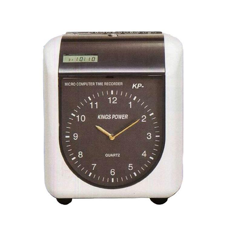 KINGS POWER KP-210A六欄位電子式打卡鐘(指針)