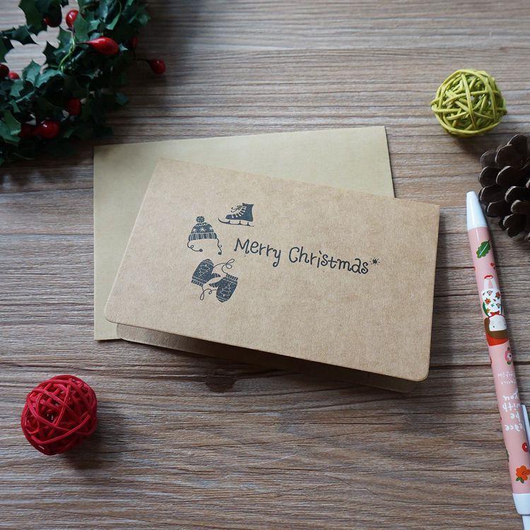 復古聖誕節賀卡-02.聖誕帽