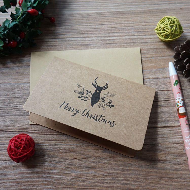 復古聖誕節賀卡-04.糜鹿