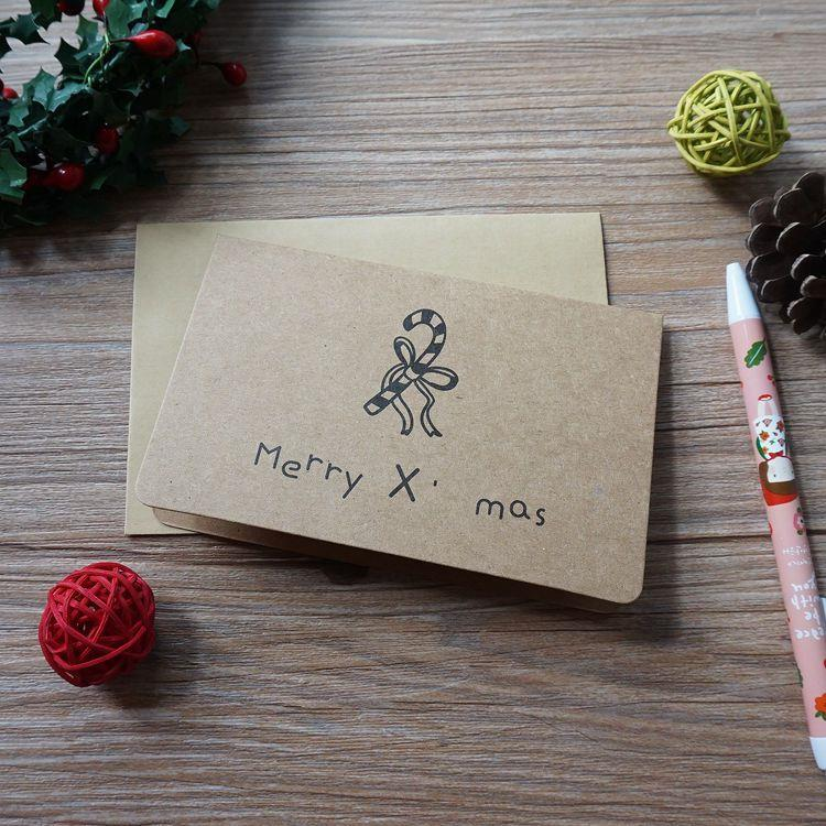 復古聖誕節賀卡-05.拐扙糖
