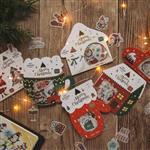 聖誕和紙貼紙01.Party home(40枚入)