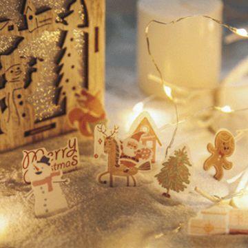 聖誕和紙貼紙03.雪屋(40枚入)