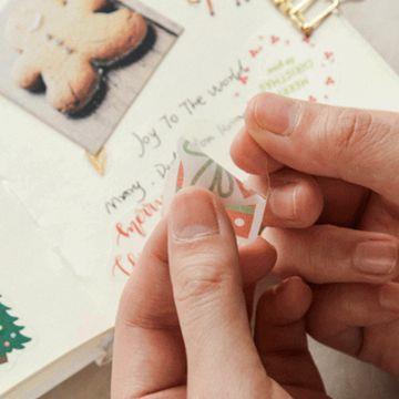 聖誕和紙貼紙05.聖誕頌(40枚入)
