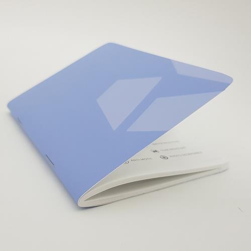[imSTONE石頭紙禮品] 隨手撕護照型筆記本-黑大理石