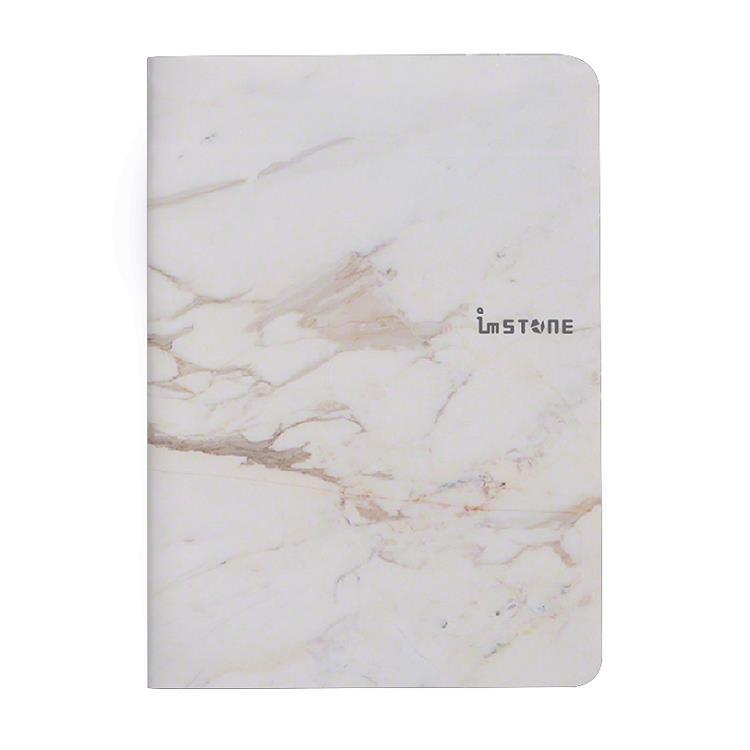 [imSTONE石頭紙禮品] 隨手撕護照型筆記本-白大理石