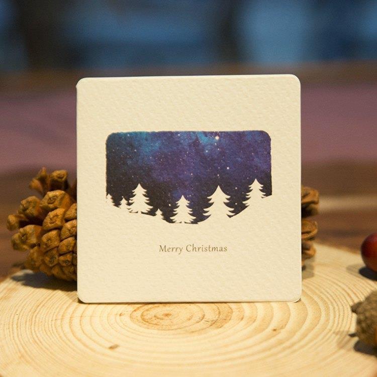 星空炫彩耶誕小卡-G款