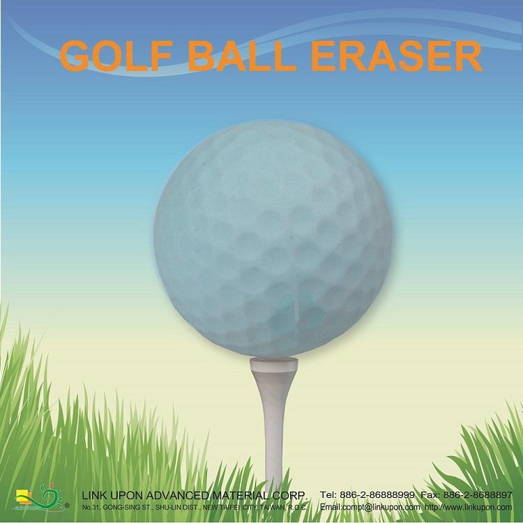 【允拓】高爾夫球橡皮擦(馬卡龍色系)-藍色
