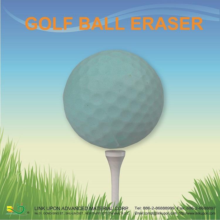 【允拓】高爾夫球橡皮擦(馬卡龍色系)-綠色