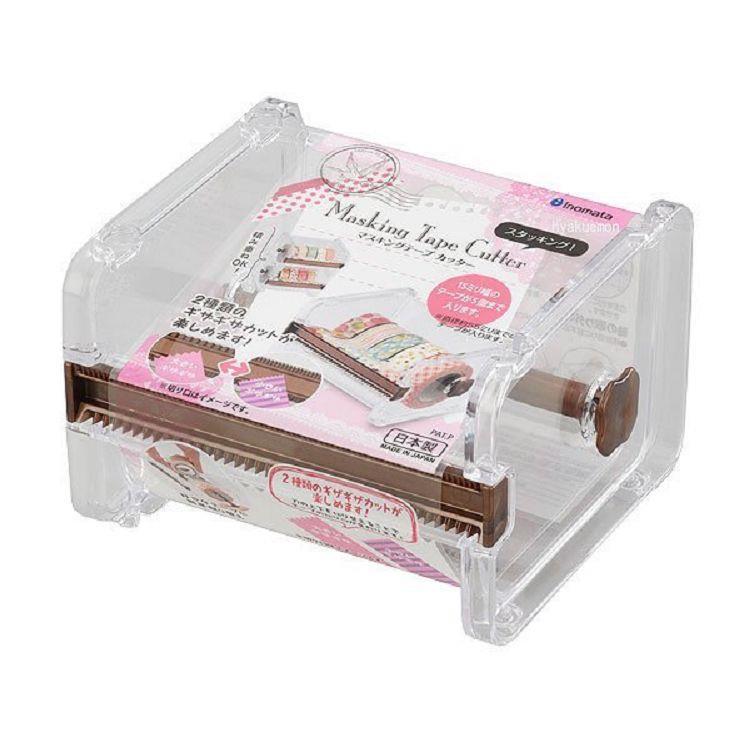【大國屋】日本製INOMATA紙膠帶收納盒帶切割器