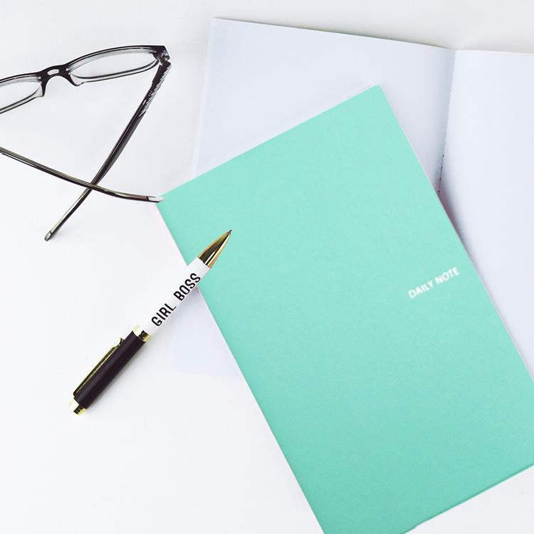 【FENICE】FENICE商務系列-插筆式筆記本 M size(蒂芬妮綠)