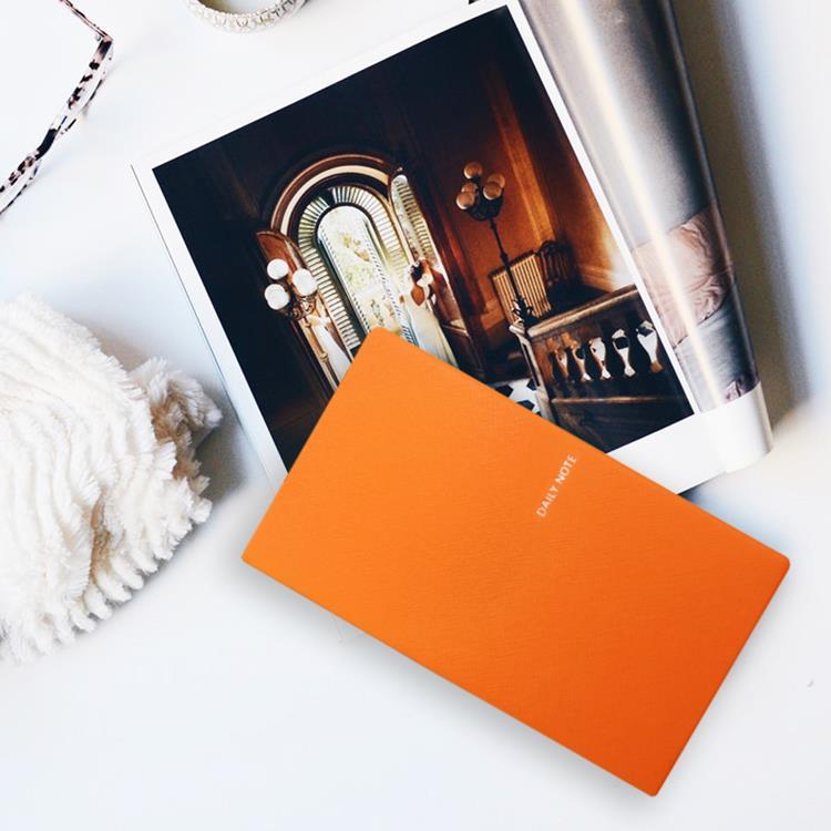 【FENICE】FENICE商務系列-插筆式筆記本 S size(橘)