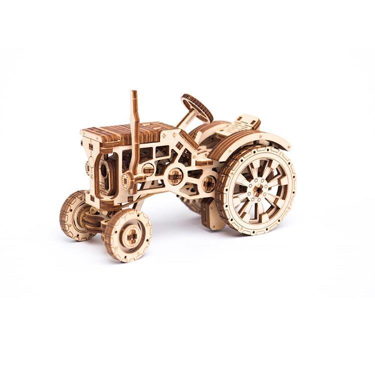 波蘭 WOODEN CITY 動力模型/蠻牛耕耘車