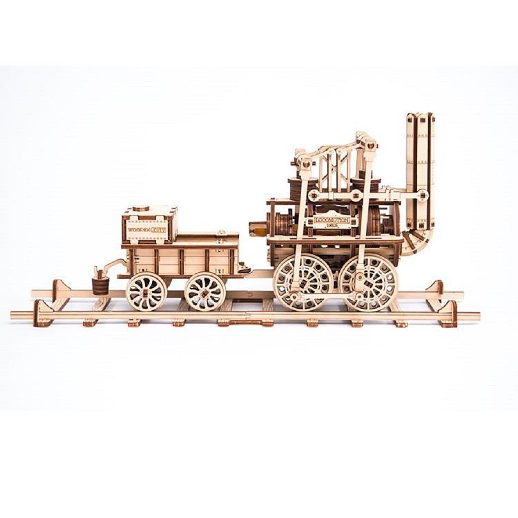 波蘭 WOODEN CITY 動力模型/蒸汽火車頭