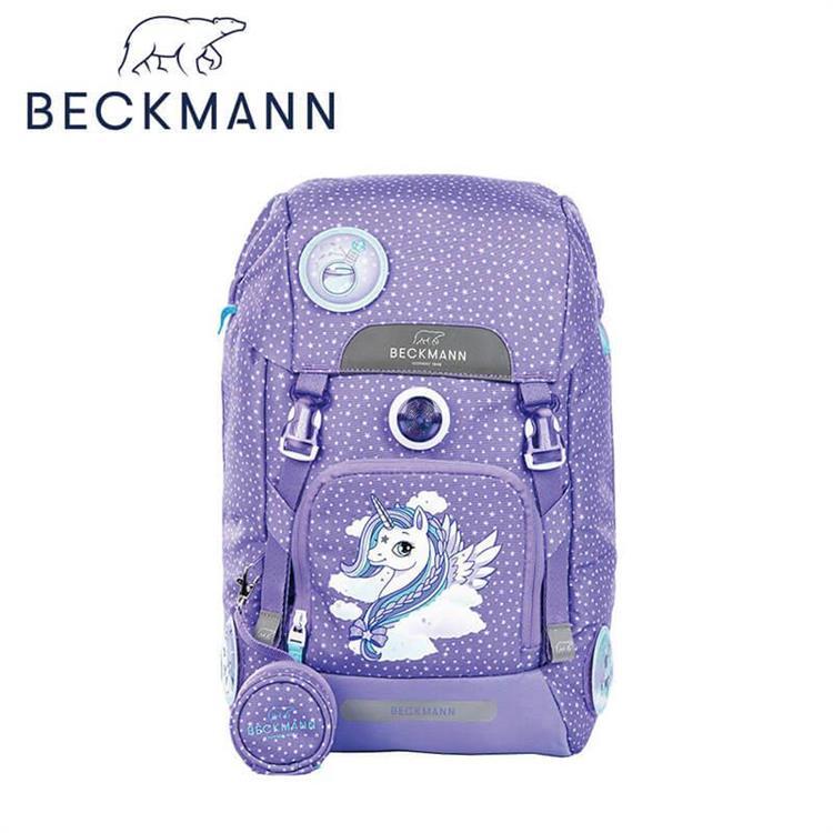 【Beckmann】 兒童護脊書包 22L - 華麗獨角獸