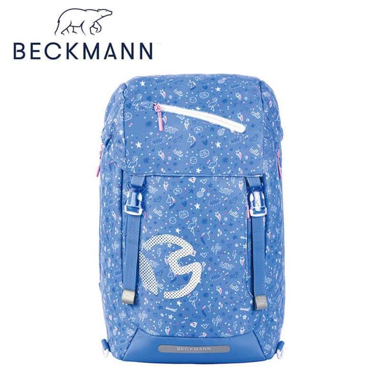【Beckmann】 護脊書包 28L - 繽紛碎花