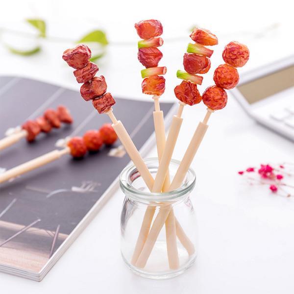 香辣烤丸子烤肉串羊肉串 水性筆 中性筆-三肉丸