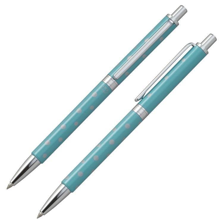 【IWI】跳跳糖果吧0.5mm中性筆-圓點蘇打藍