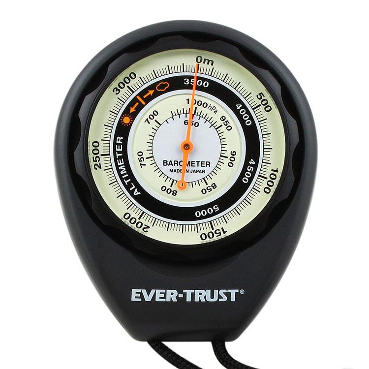 【東京磁石工業】EVER-TRUST 日本製氣壓式高度計 5000m 690